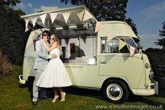 Vintage Icecream van