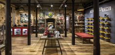 Architectural & Interior Photographers - Retail & Hospitality industry specialists - Same day Turnaround - London, Europe, Worldwide Dr. Martens, Interior Styling, Interior Decorating, Metal Shelving Units, Retail Store Design, Store Interiors, Listed Building, New London, Retail Interior