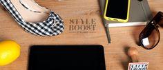 Logo and pocketdump StyleBOOST Styling