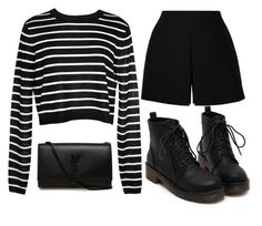 """""""Chic Look #12."""" by mzelleshort ❤ liked on Polyvore featuring TIBI, Valentino and Yves Saint Laurent"""