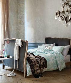 Bedroom: H&M Home new Spring Summer collection via purodeco | Soverom: H&M Home vår og sommer kolleksjon 2014