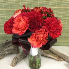 An example of our custom wedding work. Same Day Flower Delivery, Floral Design, Creative, Flowers, Gifts, Wedding, Valentines Day Weddings, Presents, Floral Patterns