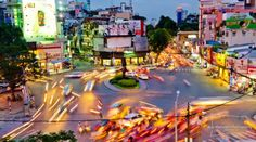 Ho Chi Minh City - I love these long shutter time pictures.
