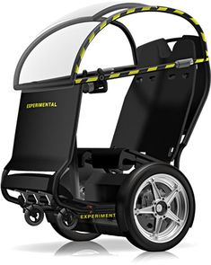 Wheelchair design technologies including Segway & GM launch the PUMA personal mobility concept wheelchair