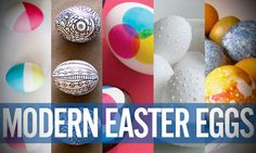 Easter around the corner... and a few ideas for guys trying to escape pastels.