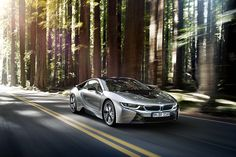 BMW i8 Plug-in Electric Sports Car
