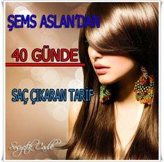 Şems Aslan'dan 40 günde Yeni Saçlar  Çıkaran Tarif  http://www.sosyetikcadde.com/sems-aslandan-40-gunde-sac-cikaran-tarif/