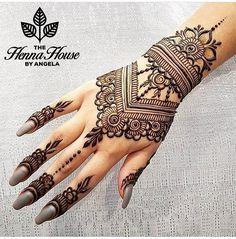 "We Are Here To Inspire You on Instagram: ""Henna @hennabyang Good Morning Loves ❤ #hennalookbook #hennainspire #henna #mehndi #art #inspirations"""