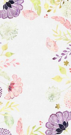 Download a beautiful floral wallpaper here