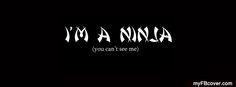 I am Ninja FB Cover from myFBcover.com