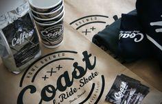 Candy Black: Coast packaging / branding