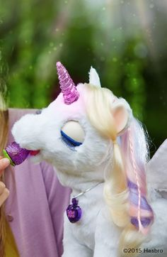 StarLily My Magcial Unicorn Sponsored by FurReal Friends.