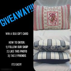 WIN $50 GIFT CARD on Instagram!  It's Easy! Ends 2/21.