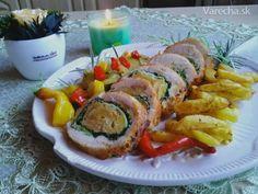 Lepenice s pečeným krůtím stehnem Sushi, Food And Drink, Pizza, Ethnic Recipes, Sushi Rolls