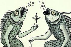Jon MacNair at Antler Gallery – view more (mystical) images @ http://www.juxtapoz.com/Illustration/jon-macnair-at-antler-gallery-pdx – #illustrations #fisharms #antlergallery
