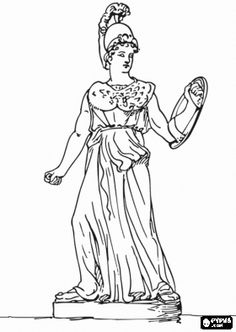 Ancient Greek Olympics Coloring Pages