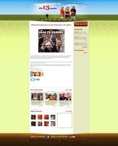 Alle 13 Jaanke is in te huren als artiest voor al uw feesten, Dutchwebdesign heeft voor hen een multifunctionele WordPress website gebouwd die zowel informatief als praktisch is, http://www.alle13jaanke.nl
