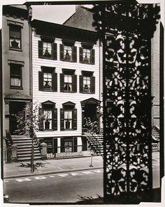 Berenice Abbott (1898-1991), Willow Street, Brooklyn, before 1950, gelatin silver print