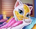 Em Talking Angela Um Dia de Princesa, hoje nossa amiga Talking Angela vai ter um dia de princesa. Ela vai para um Spa para cuidar da pele e relaxar, fazer limpeza de pele e vários tratamentos de beleza. Divirta-se com Talking Angela!