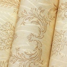 SimpleLife4U Embossed Beige Damask Design SelfAdhesive Removable PVC Wall Decor Sticker23Inches by 13Feet * You can find more details by visiting the image link.