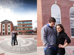 Alicia and Desi's UCONN Engagement Session - Alissa Dinneen Photography Blog - CT Wedding Photographer
