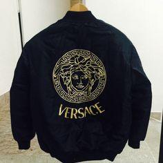 f11fe9dd9680f VerSace Bomber jacket . MEN SIZE SMALL . Brand new. #versace #versace #