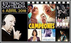"""Como cada semana, desde nuestro podcast """"El Perfil de Hitchcock"""", repasamos todas las películas de estreno que podremos ver en la cartelera española... en esta ocasión, los de la semana del 6 Abril de 2018.  http://www.tavernamasti.com/2018/04/estrenos-de-la-semana-6-abril-de-2018-y.html"""
