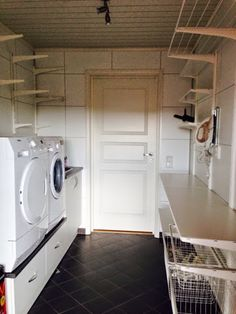 vaskerom ikea - Google-søk Stacked Washer Dryer, Washer And Dryer, Washing Machine, Laundry, Home Appliances, Laundry Room, House Appliances, Laundry Service, Washing Machine And Dryer