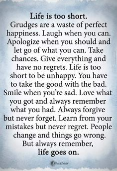 So true. No regrets. Quotable Quotes, Wisdom Quotes, Quotes To Live By, Me Quotes, Motivational Quotes, Funny Quotes, Cool Words, Wise Words, Inspirational Thoughts