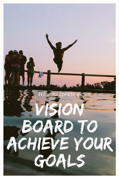 Learn how to create the best vision board to achieve your goals. via @xoxocb