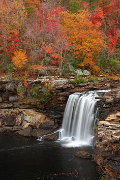 Autumn at Little River Falls, Alabama ~ USA