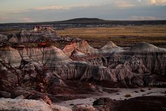 Blue Mesa, Petrified Forest, Arizona