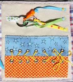 Lacing and Buckles Page for a Quiet Time Book by MonoNoAvare