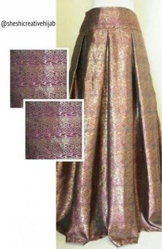New skirt long batik 42 ideas Elegant Style Women, Muslim Dress, Islamic Fashion, Batik Dress, Ethnic Dress, Curvy Outfits, Skirt Outfits, Traditional Outfits, Hijab Fashion