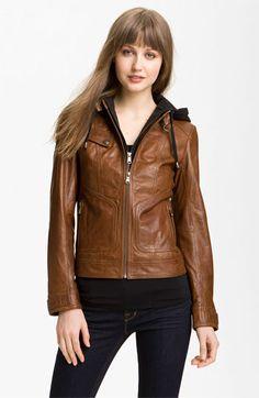 Marc New York Leather Moto Jacket   Nordstrom