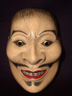 Noh   Noh mask Otoko-Masukami