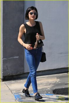 lucy hale hair salon truth wrap 01