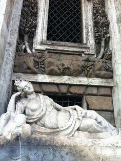 Pietro da Cortona - fountain Via delle Quattro Fontane - Rome