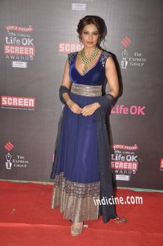 Bipasha Basu at the 20th Annual Life Ok Screen Awards 2014