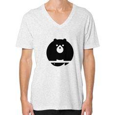 Bear V-Neck (on man) Shirt