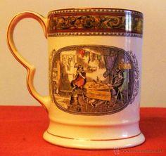 Antigüedades: JARRA DE CERVEZA DE PORCELANA ADAMS REAL ENGLISH IRONSTONE - Foto 2 - 47288048