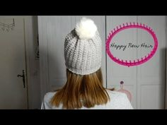 Tricotin - Bonnet Point Bambou / Loom knitting