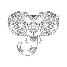 die 121 besten bilder von elefanten   elefanten, ausmalbilder und ausmalen