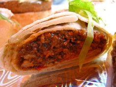 Kati roll one of the delicious and famous Bengali Cuisine