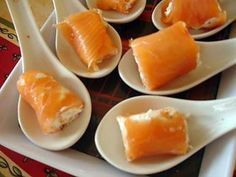 Appetizers For Party, Appetizer Recipes, Tapas, Salty Foods, Smoked Salmon, Salmon Recipes, Entrees, Food And Drink, Cooking Recipes