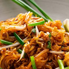 Pad Mee Korat is a spicy Thai noodle dish from the area of Korat in Thailand. It's the spicy pad thai noodle dish you never knew existed! Noodle Recipes, Thai Recipes, Asian Recipes, Japanese Recipes, Spicy Thai Noodles, Asian Noodles, Curry Noodles, Spicy Dishes, Thai Dishes