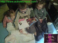 ACTIVITES: Lecture du livre ''Le loup qui voyageait dans le temps