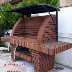 Outdoor Barbeque, Outdoor Kitchen Patio, Casa Patio, Backyard Pergola, Fire Pit Backyard, Bar B Que Grills, Built In Bbq Grill, Jardiniere Design, Parrilla Exterior