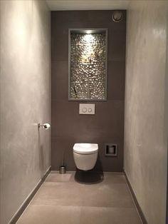 31 Beautiful Half Bathroom Ideas for Your Home - Bathroom Design - Badezimmer Small Toilet Room, Guest Toilet, Downstairs Toilet, Small Bathroom, Bathroom Ideas, Bathroom Taps, Modern Bathroom Design, Contemporary Bathrooms, Bathroom Interior Design