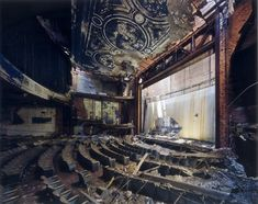 The Adams Theater, opened in 1917, closed after a murder in the building in...